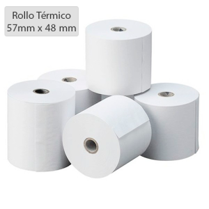 Papel térmico 57 x 48mm